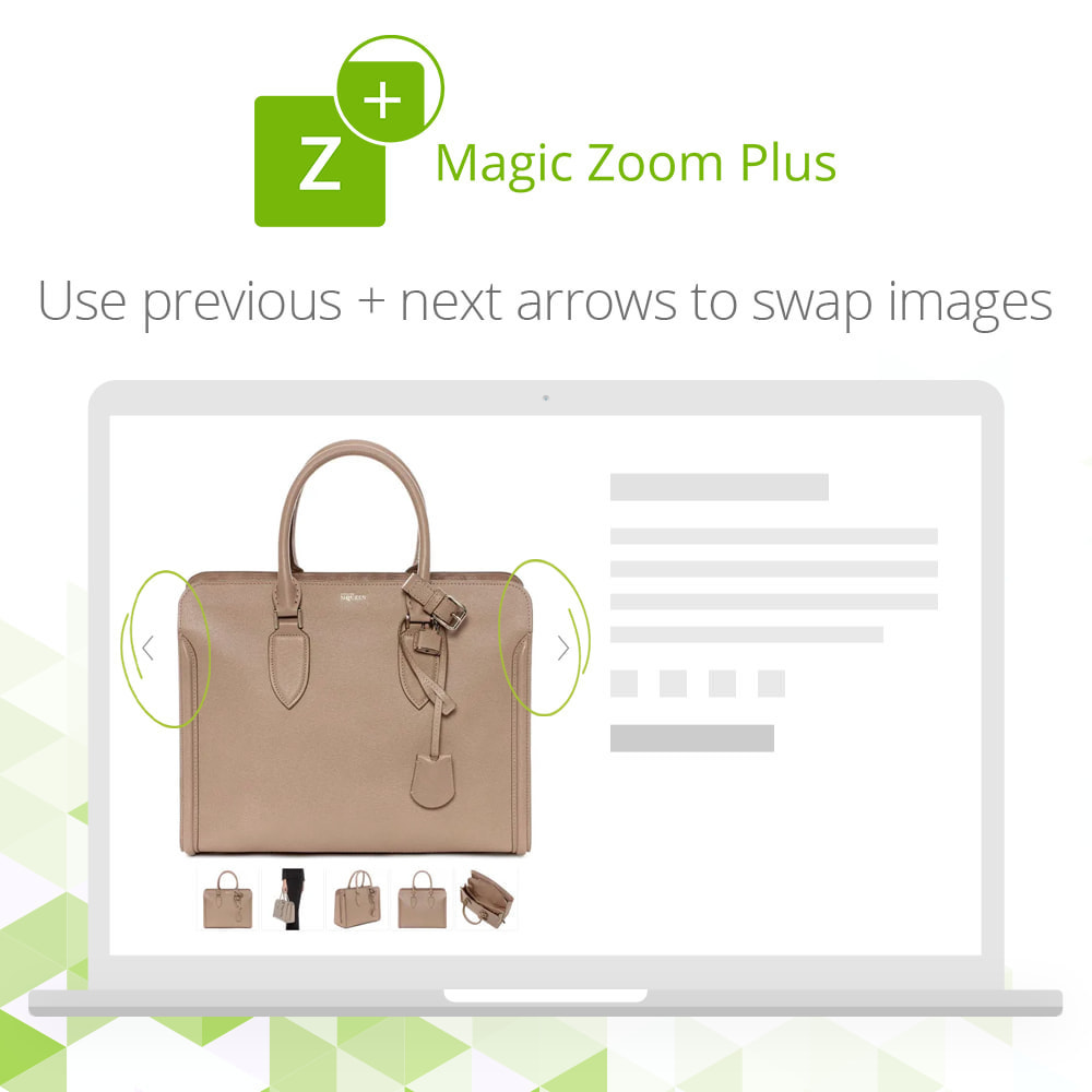 module - Visual dos produtos - Magic Zoom Plus - 8