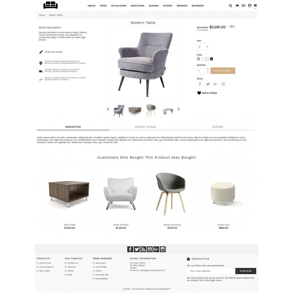 theme - Heim & Garten - Elegant Furniture - 3