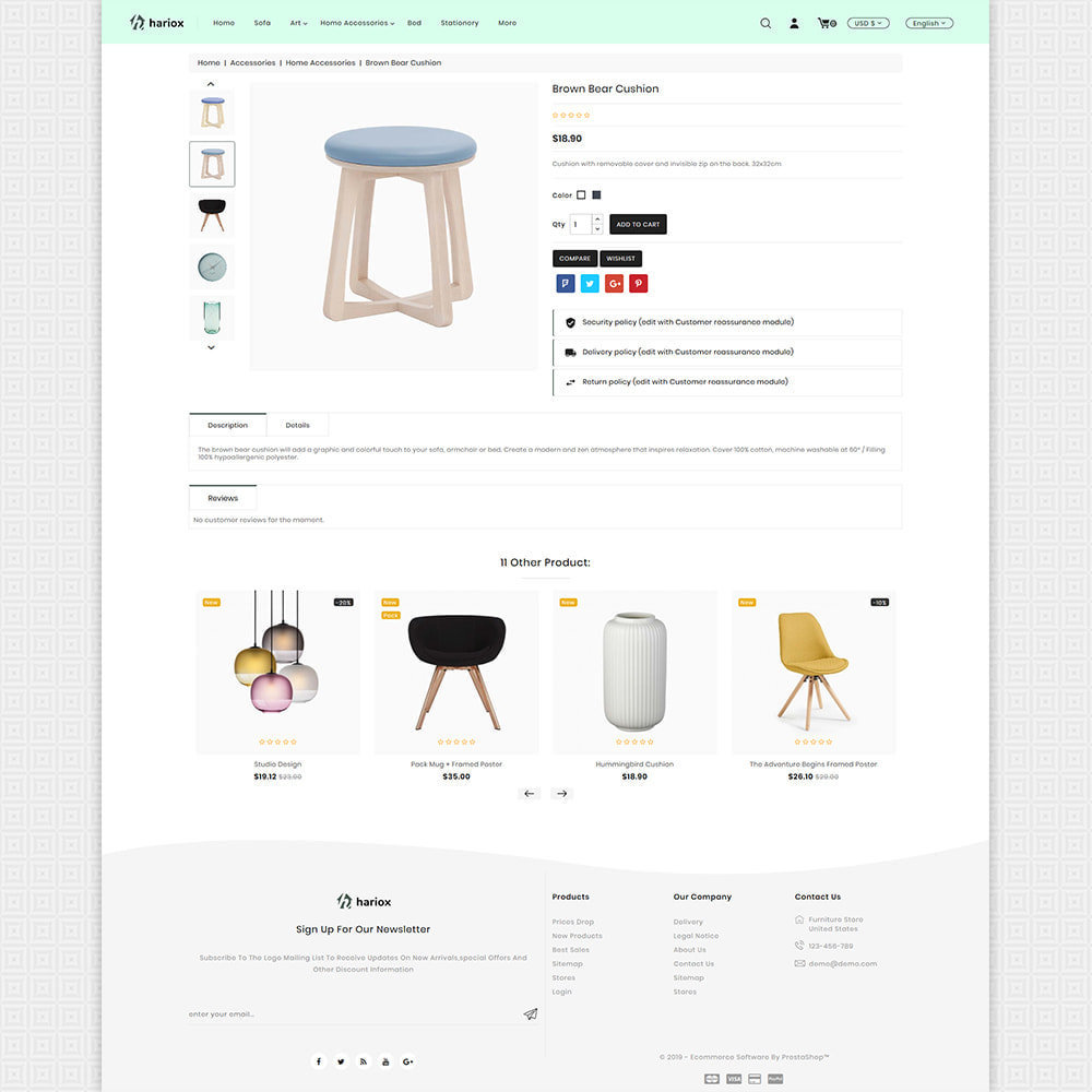 theme - Maison & Jardin - Hariox - The Best Furniture Store - 5