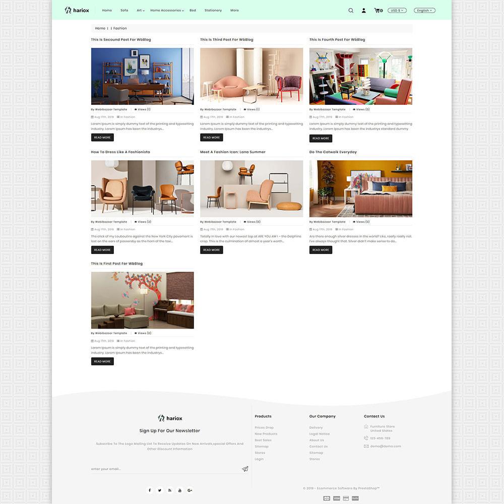 theme - Maison & Jardin - Hariox - The Best Furniture Store - 6