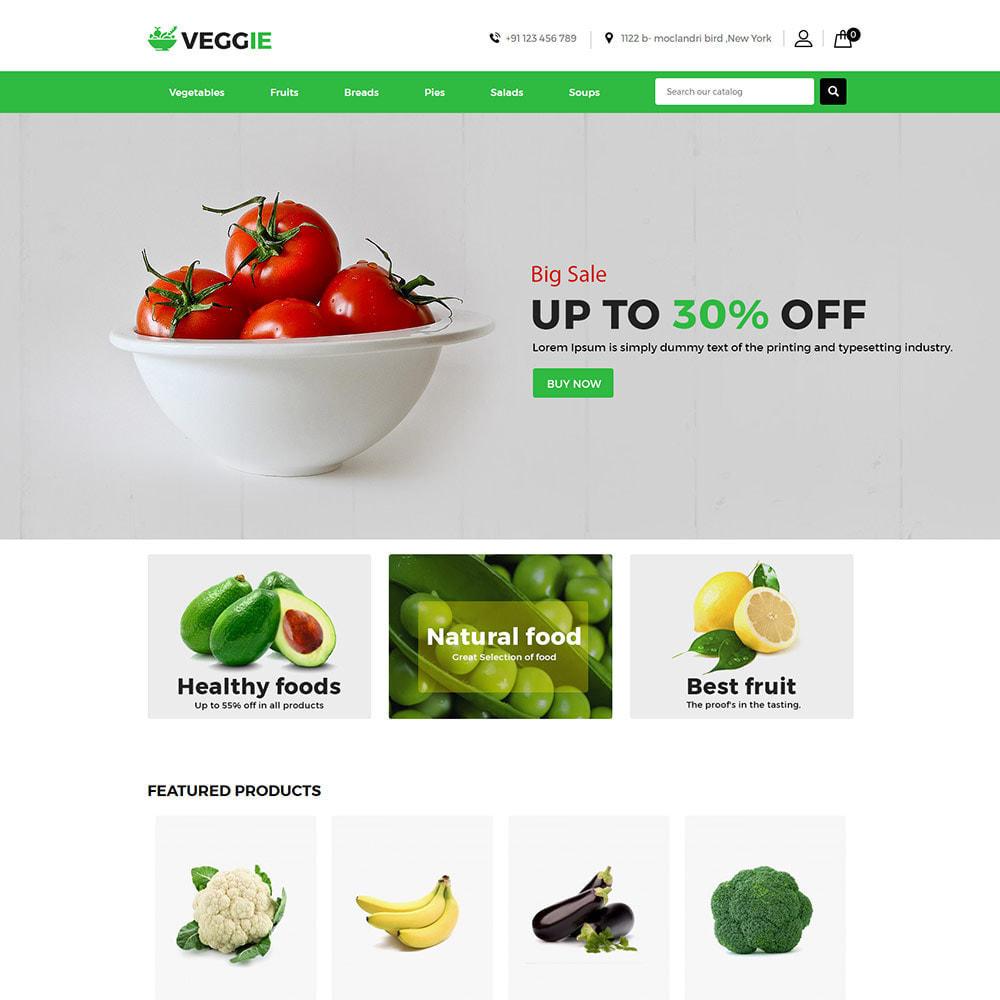 theme - Продовольствие и рестораны - Vegitables Food - Фруктовый магазин - 3
