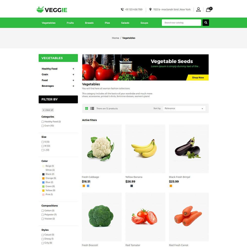 theme - Продовольствие и рестораны - Vegitables Food - Фруктовый магазин - 5