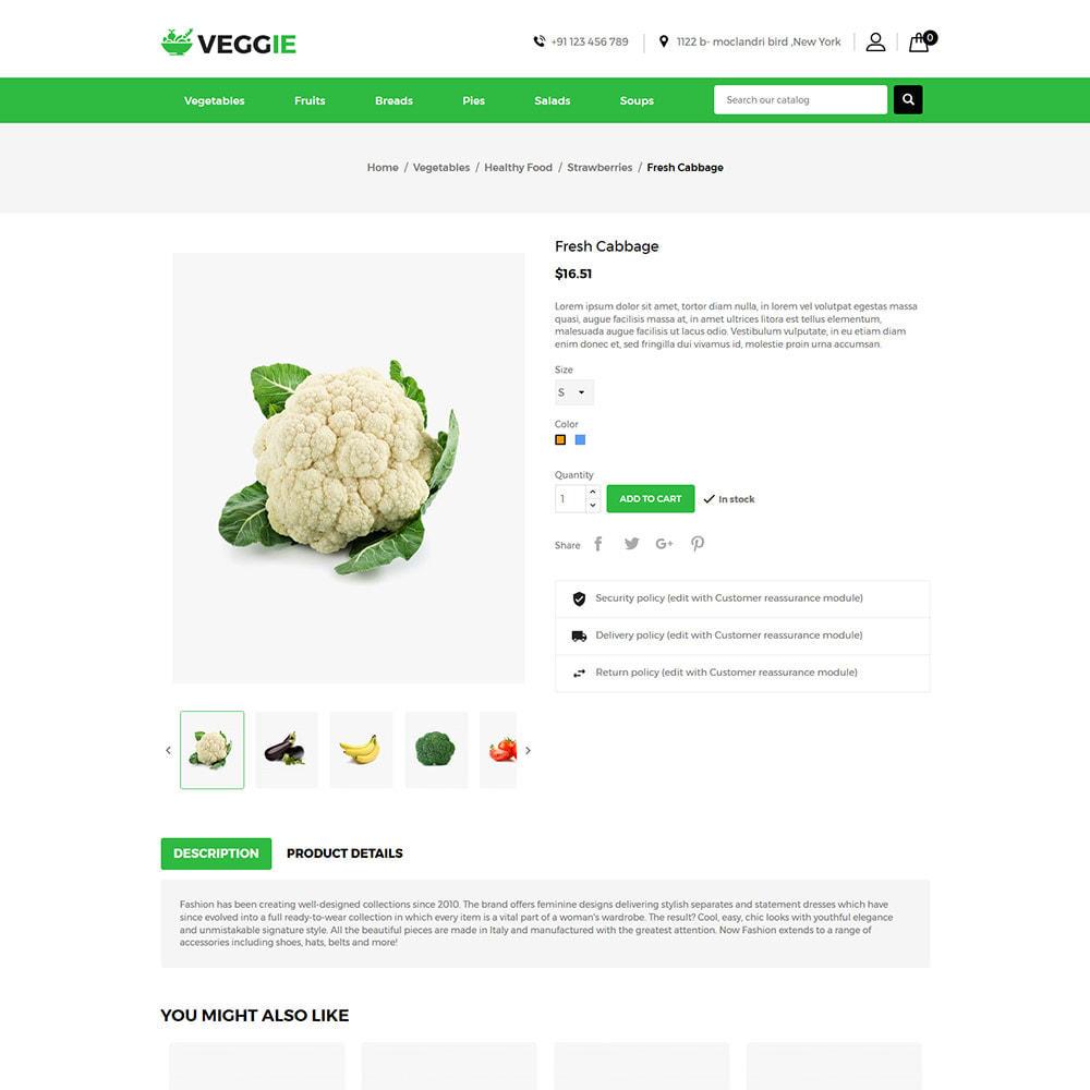 theme - Продовольствие и рестораны - Vegitables Food - Фруктовый магазин - 6