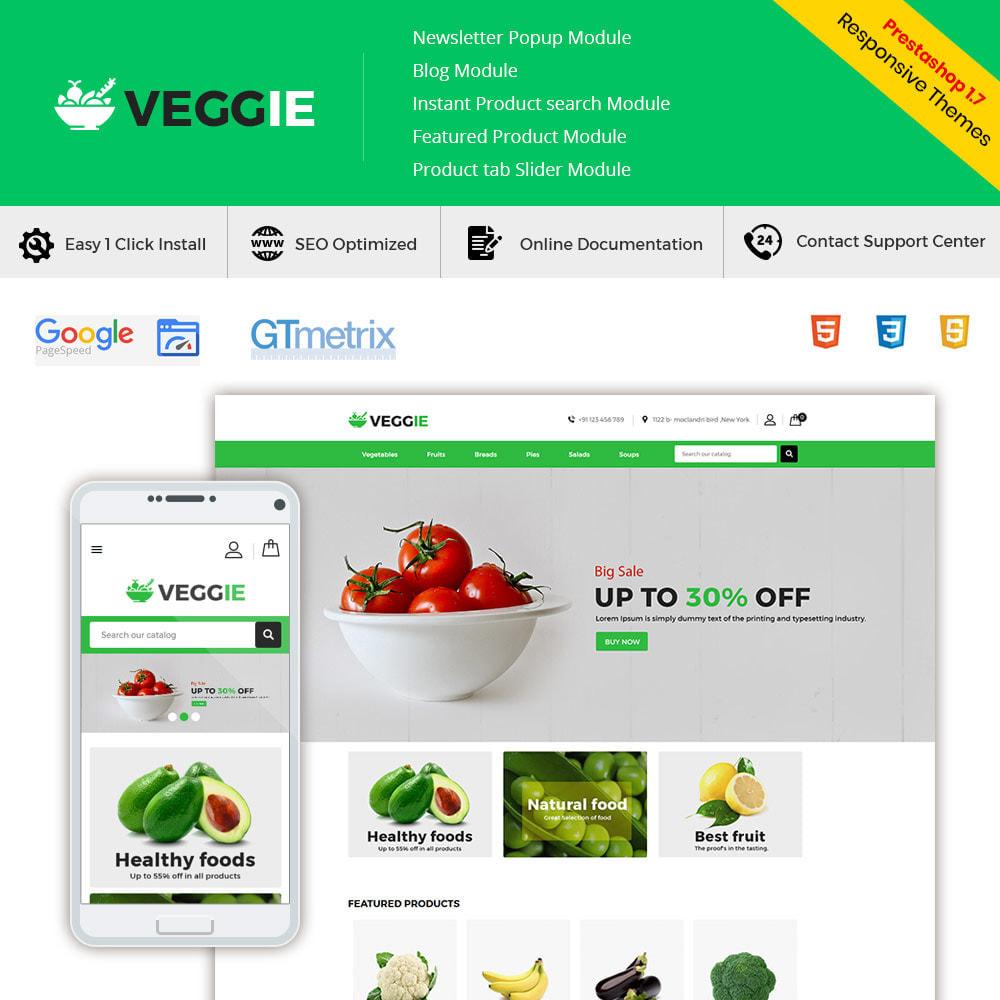 theme - Lebensmittel & Restaurants - Vegitables Food - Obst-Lebensmittelgeschäft - 2