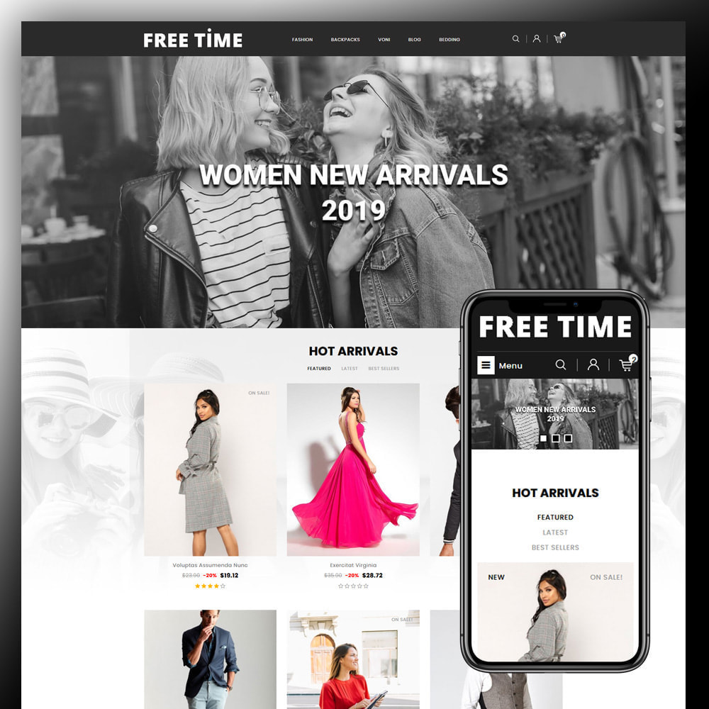 theme - Moda y Calzado - Freetime - Fashion Store - 1