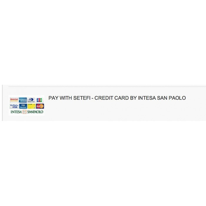 module - Creditcardbetaling of Walletbetaling - Payment with Credit Card by setefi Intesa San Paol - 1