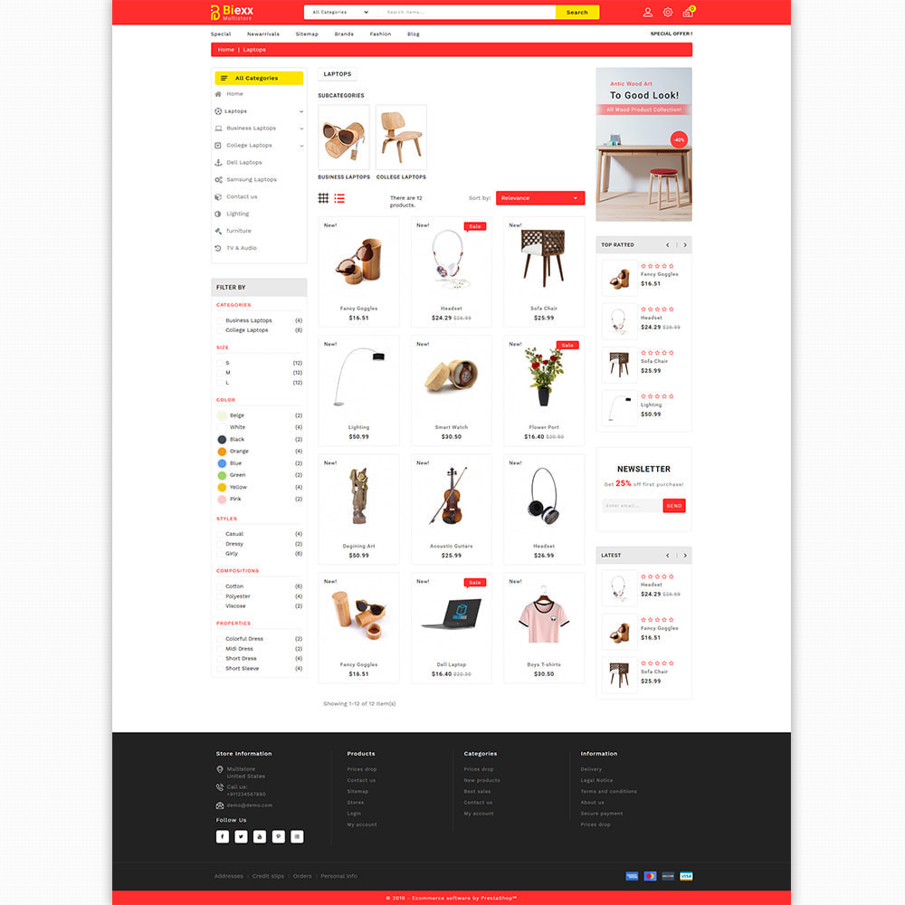 theme - Electronics & Computers - Biexx - The Best Mutistore Store - 7