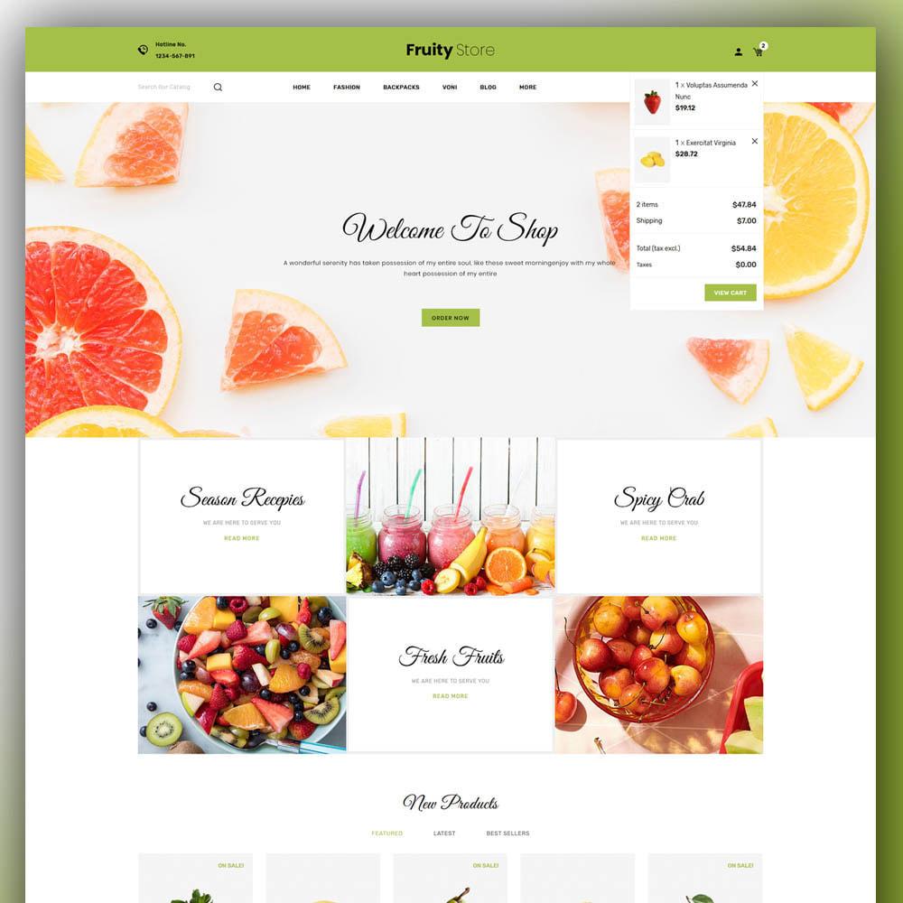 theme - Żywność & Restauracje - Fruity - Fruit Store - 3