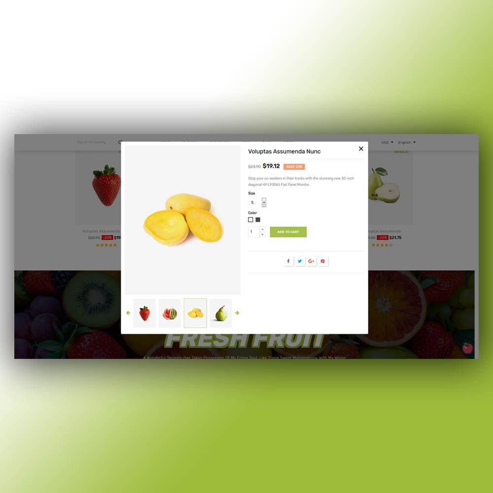 theme - Żywność & Restauracje - Fruity - Fruit Store - 8