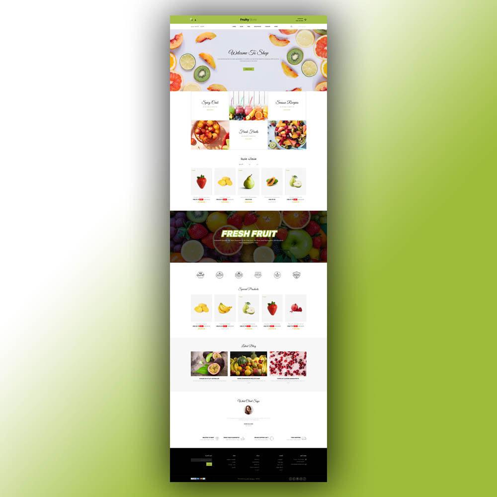 theme - Żywność & Restauracje - Fruity - Fruit Store - 9