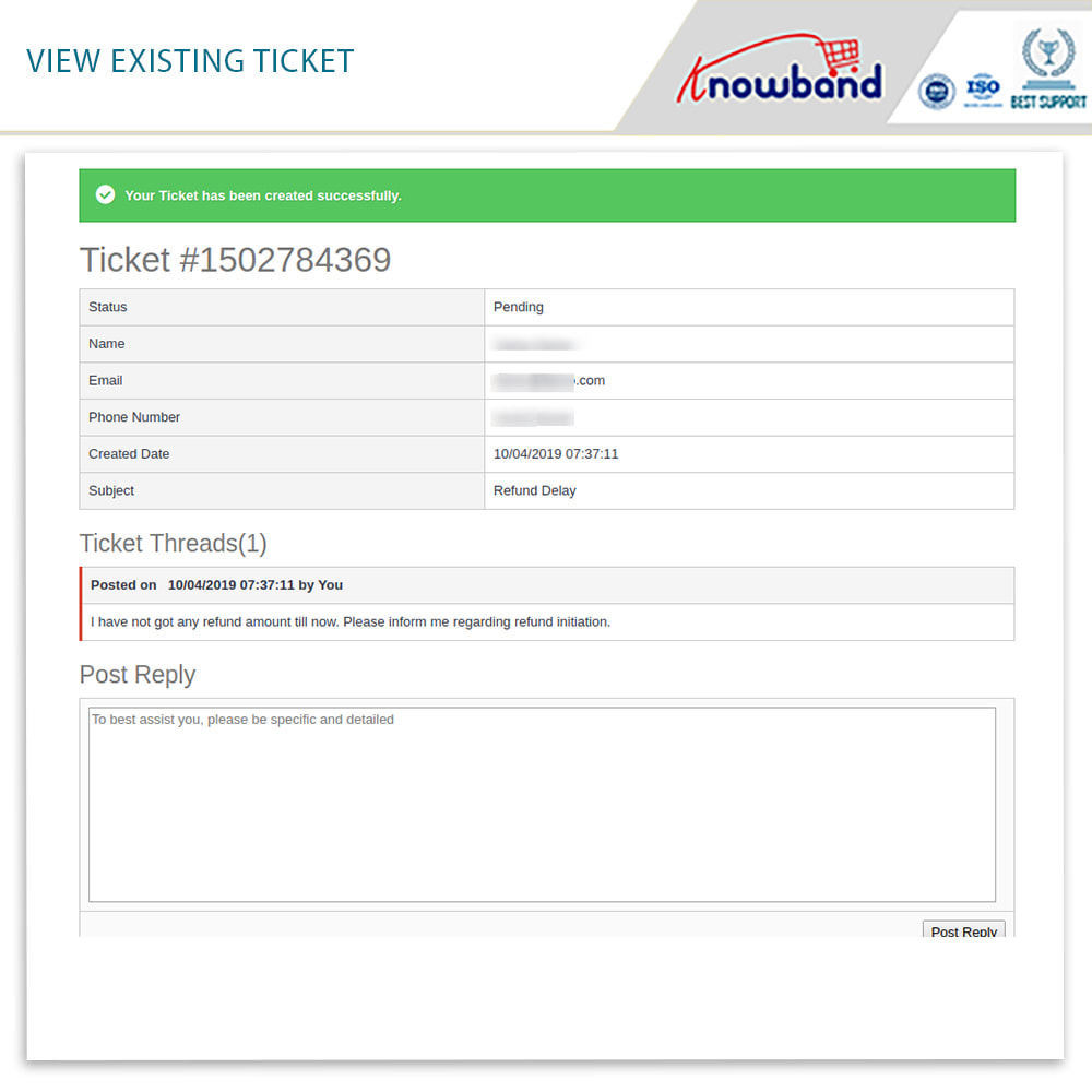 module - Customer Service - Knowband - Order Return Manager(Return Slip & Barcode) - 7