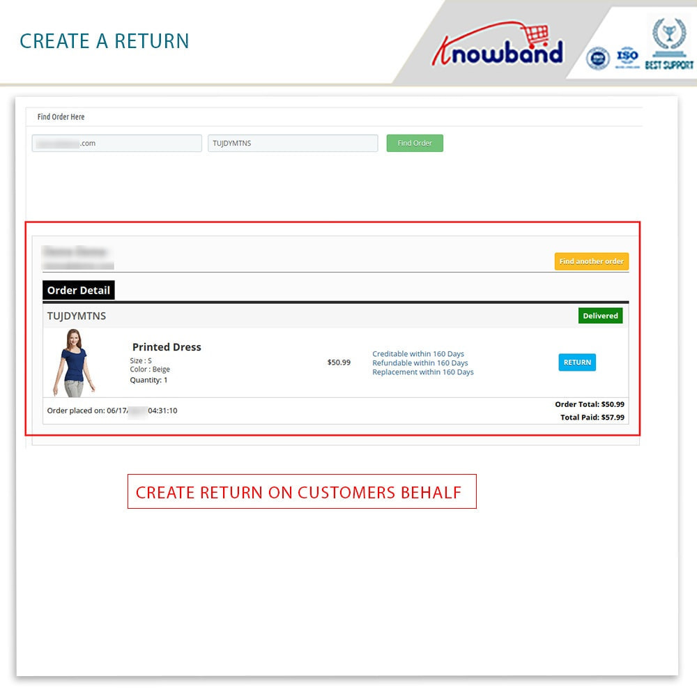 module - Customer Service - Knowband - Order Return Manager(Return Slip & Barcode) - 16