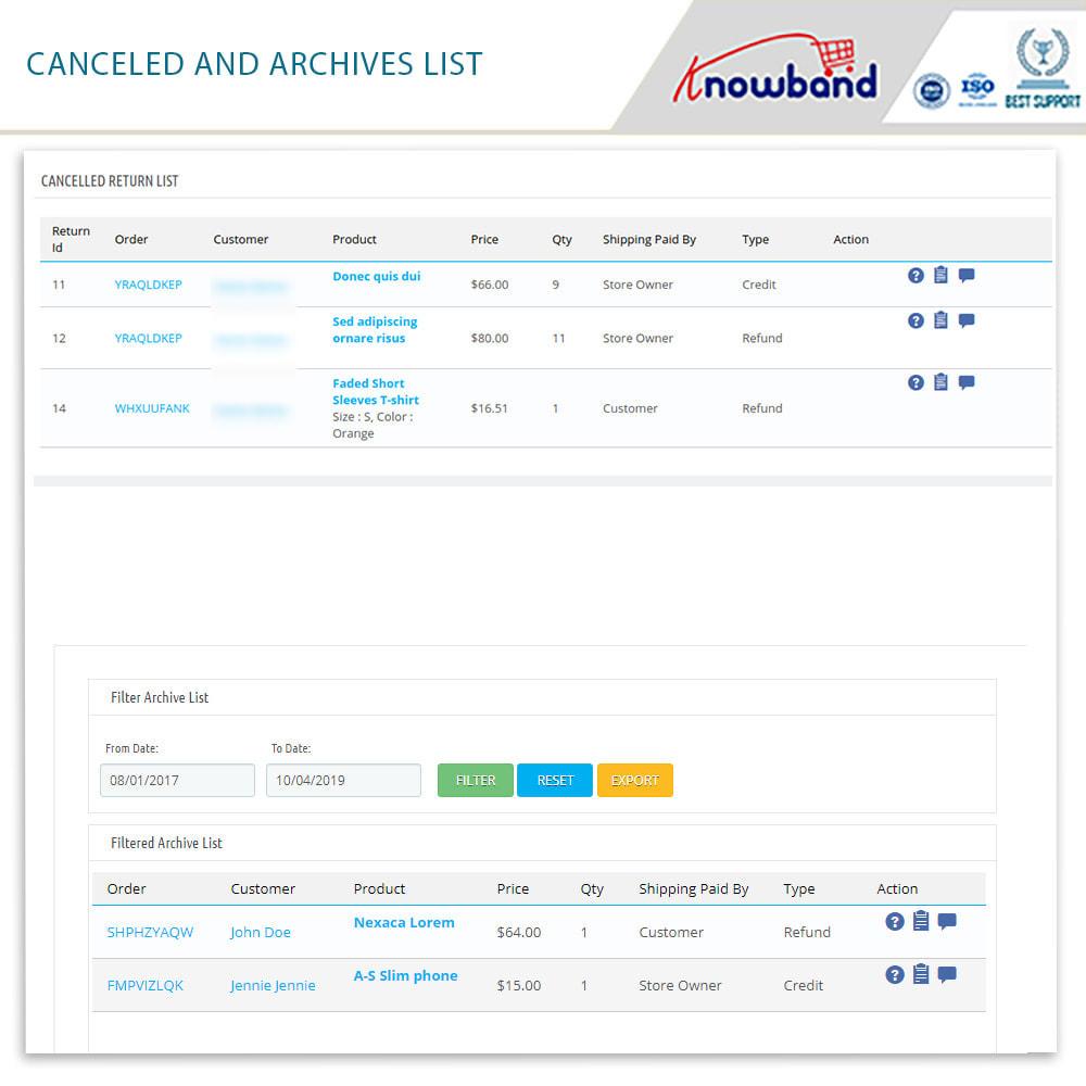 module - Klantenservice - Knowband - Order Return Manager(Return Slip & Barcode) - 19