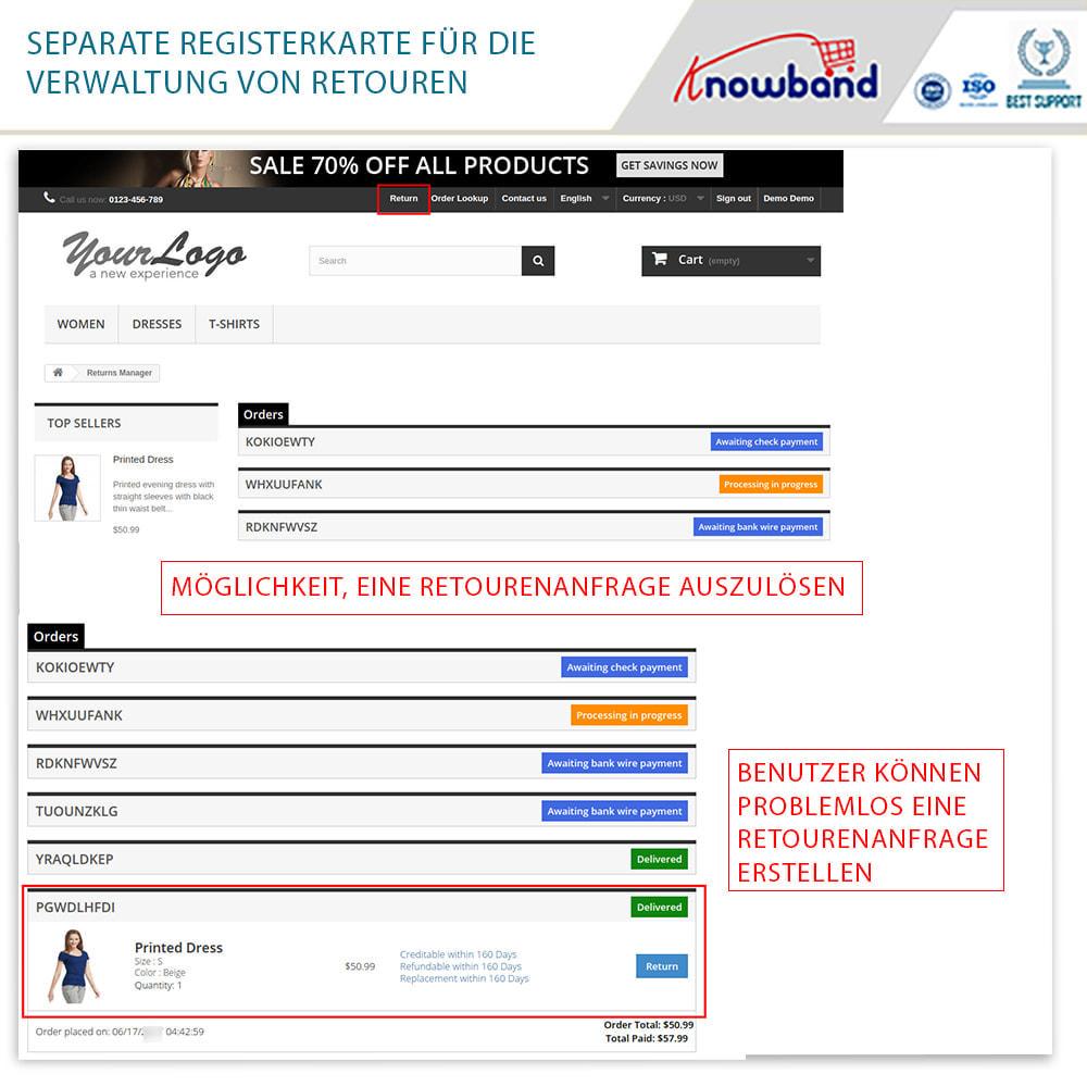 module - Kundenservice - Knowband - Bestellrückleiter-Rückschein mit Barcode - 3