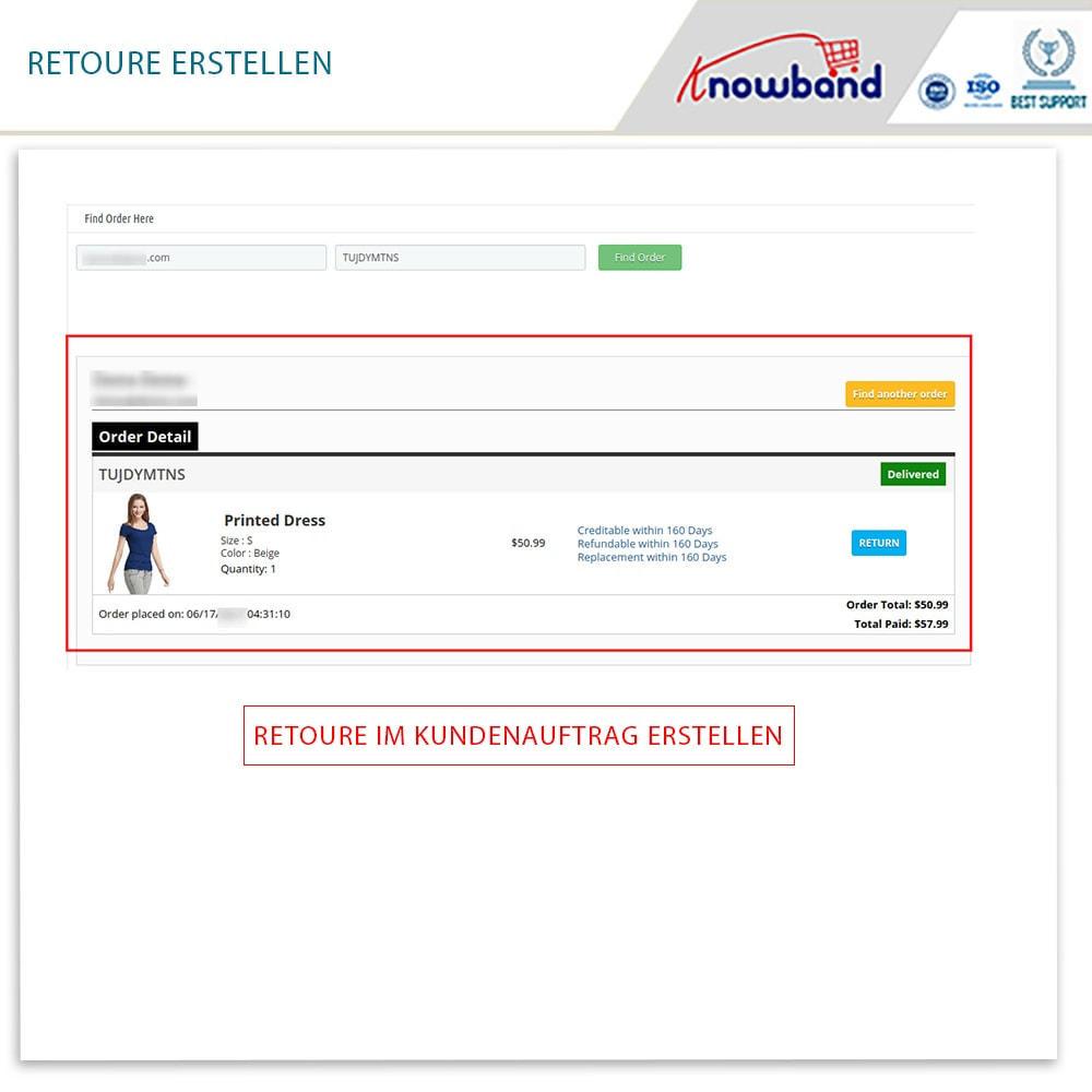 module - Kundenservice - Knowband - Bestellrückleiter-Rückschein mit Barcode - 16