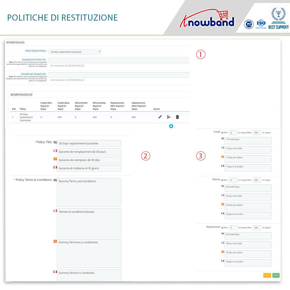 module - Servizio post-vendita - Knowband - Gestore Ordini di Restituzione - 12