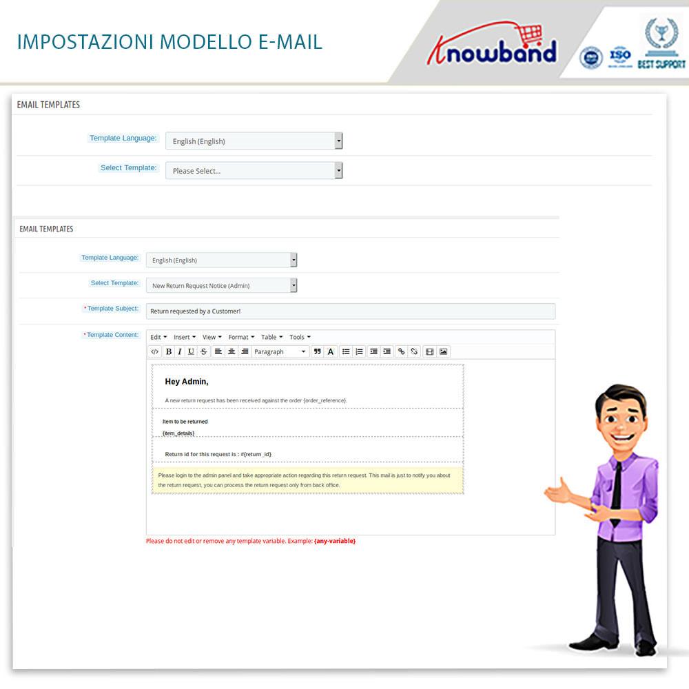 module - Servizio post-vendita - Knowband - Gestore Ordini di Restituzione - 17