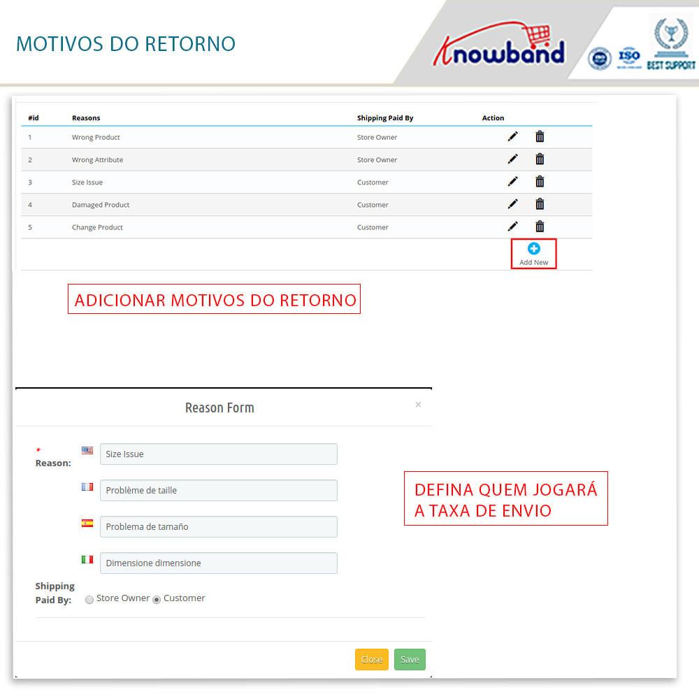 module - SAC - Knowband - Gerenciador de Devoluções - 12