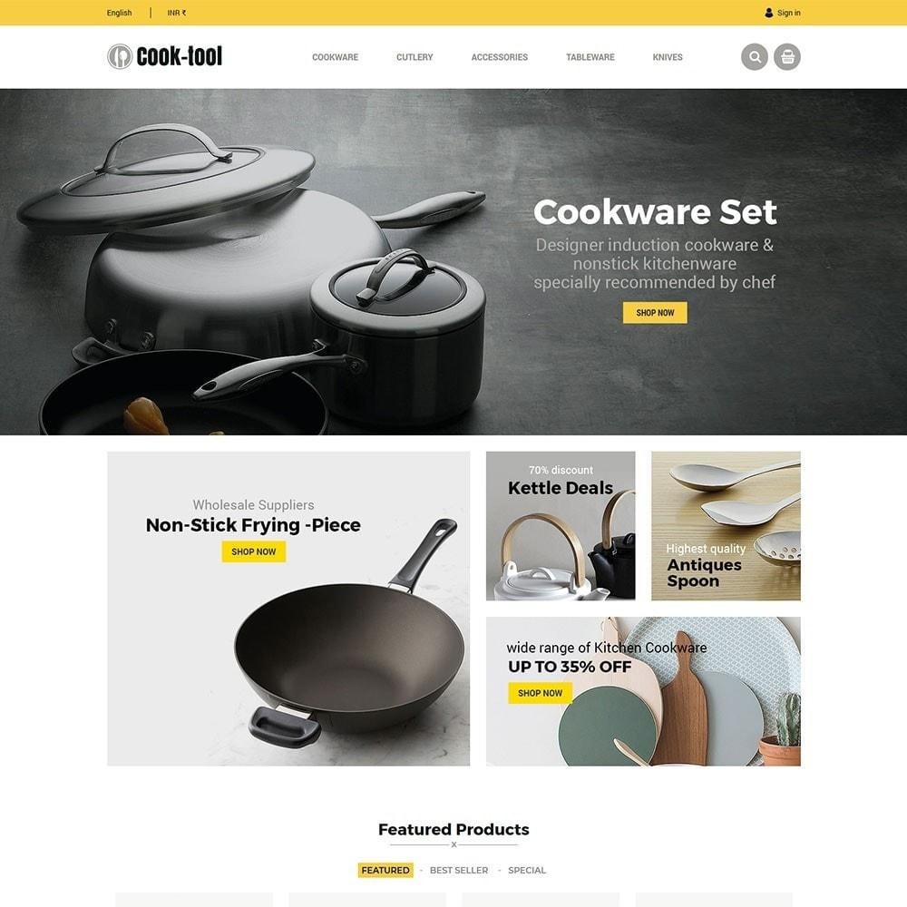 theme - Casa & Giardino - Strumento Cook - Negozio di cucina Art Decor - 3