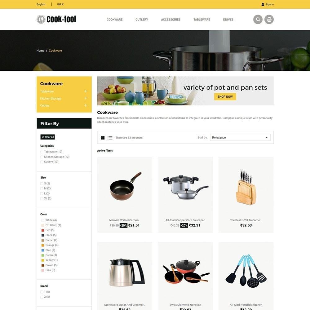theme - Casa & Jardins - Cook tool - Loja de Arte e Decoração de Cozinha - 4