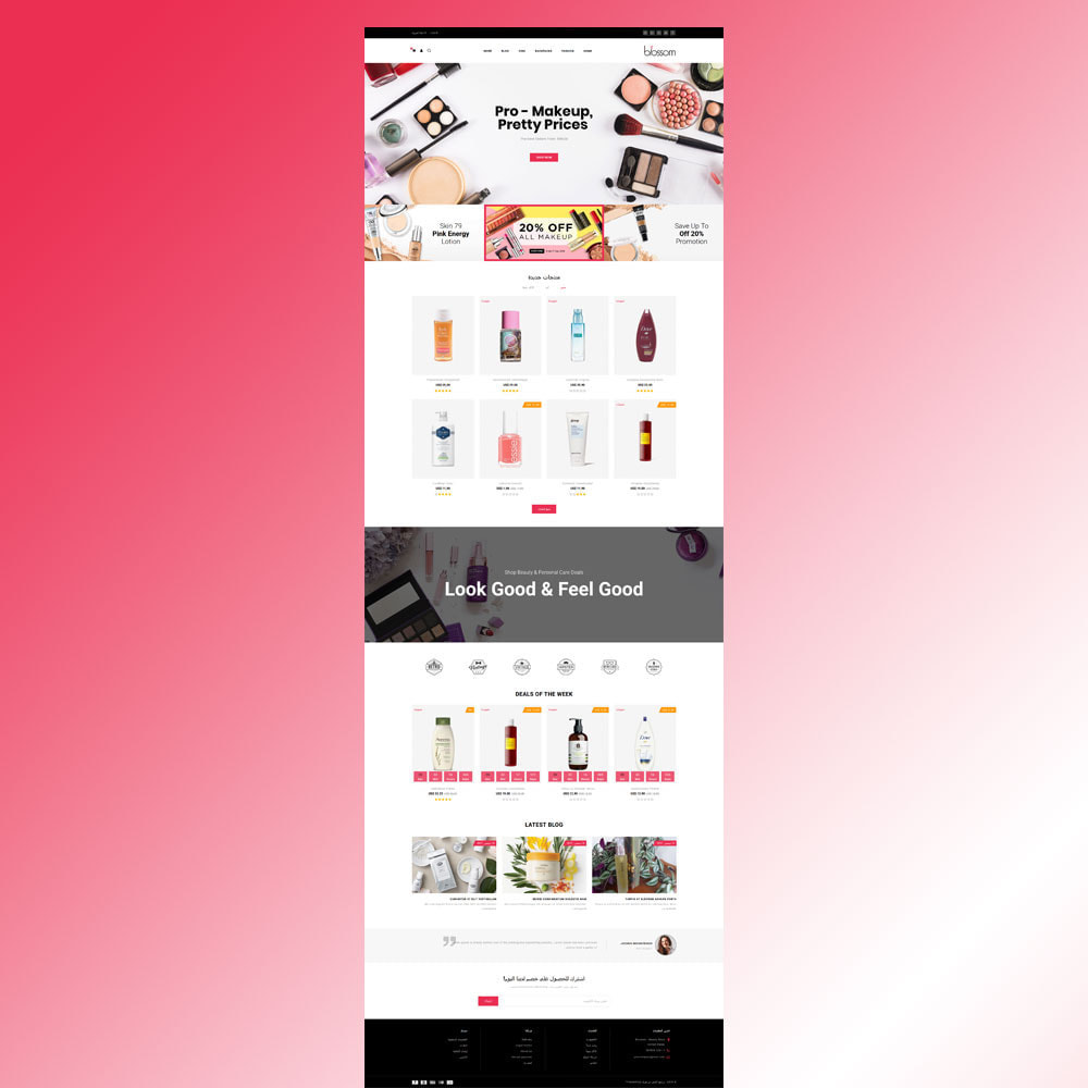 theme - Salute & Bellezza - Blossom - Beauty Store - 8