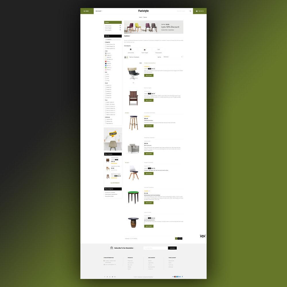 theme - Casa & Giardino - Furistyle - Furniture Store - 5