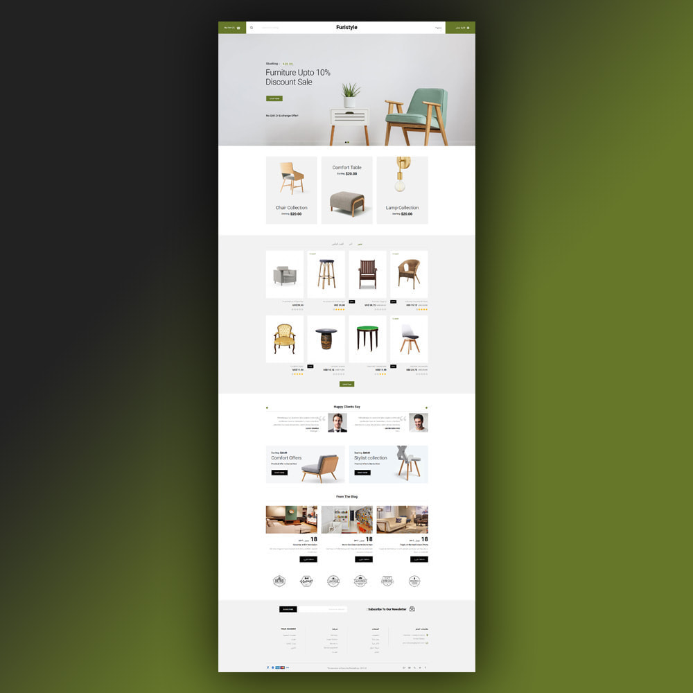 theme - Casa & Giardino - Furistyle - Furniture Store - 8