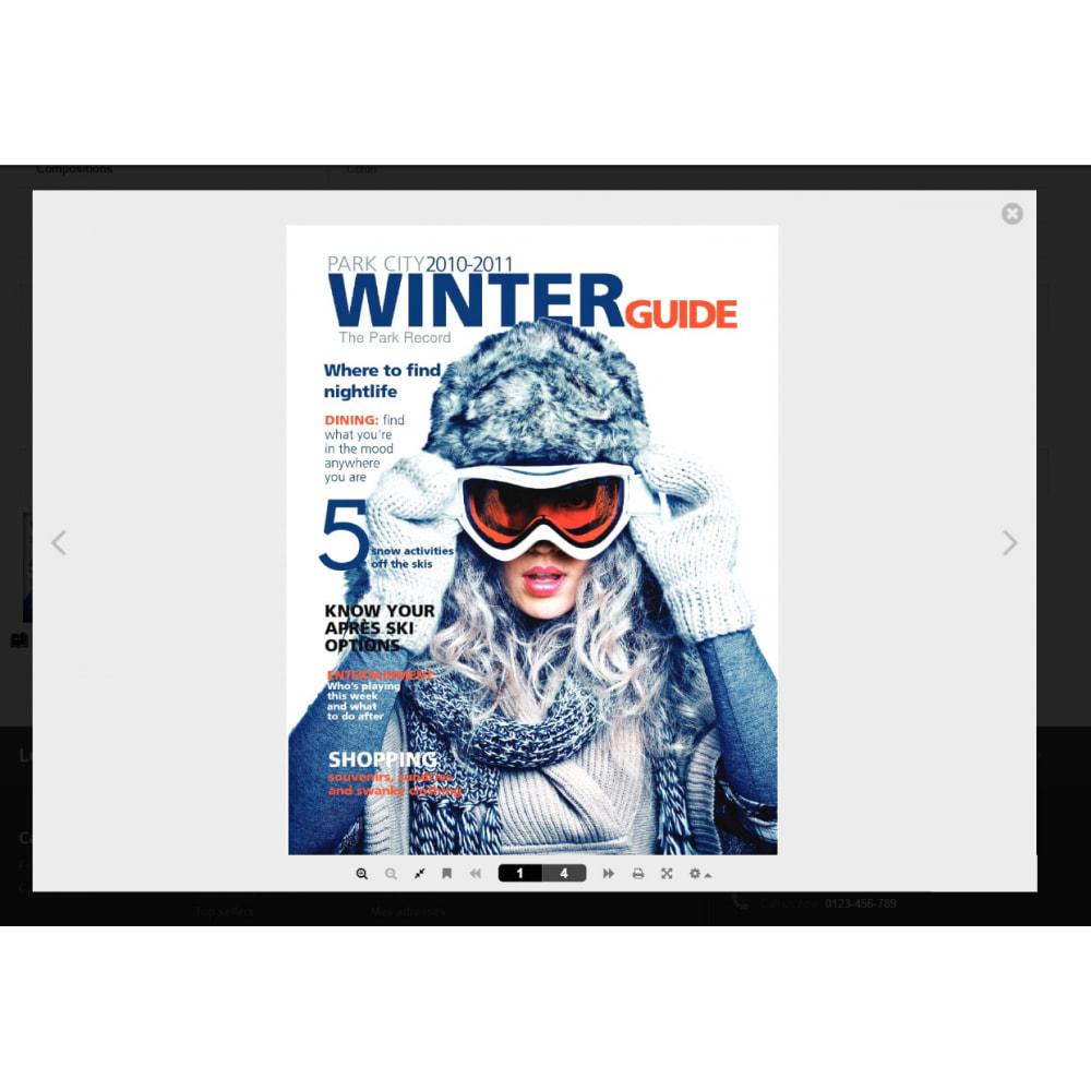 module - Visuels des produits - Flipbook 3D - 12