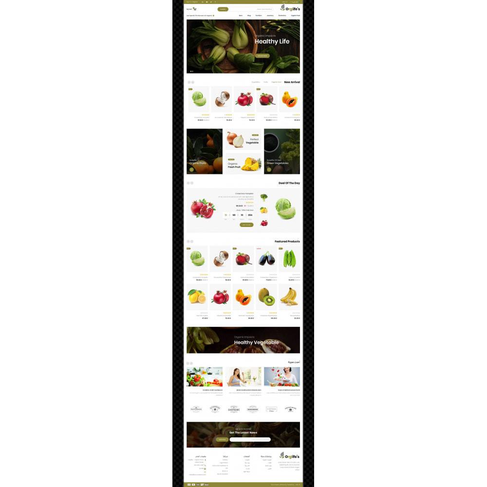 theme - Eten & Restaurant - Orglifes - Organic Store - 9