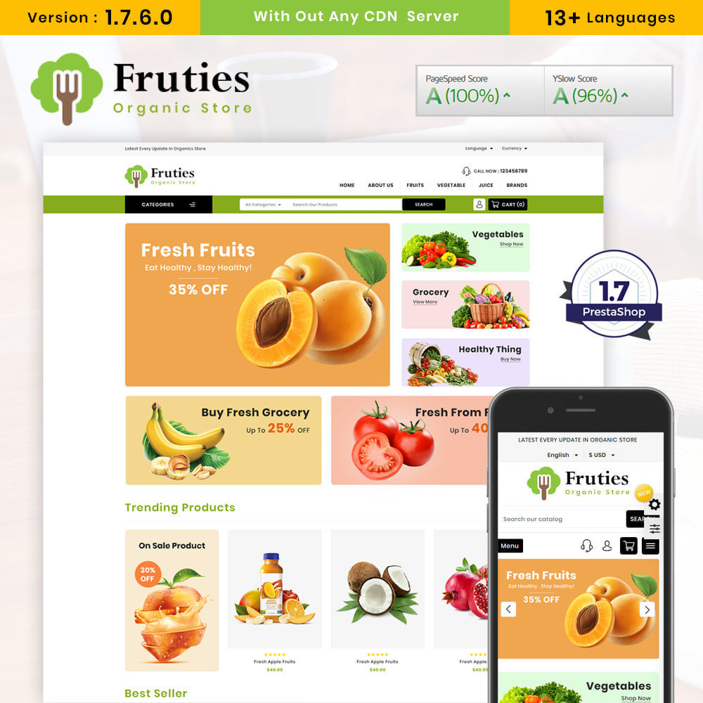theme - Lebensmittel & Restaurants - Organic Store - 1