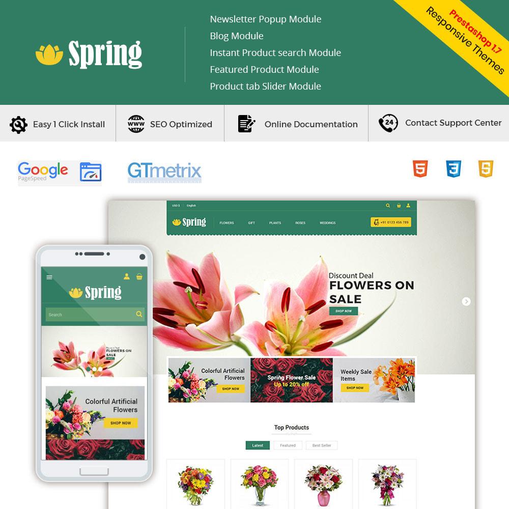 theme - Geschenke, Blumen & Feiern - Frühlingsblume - Valentine Gift Store - 2