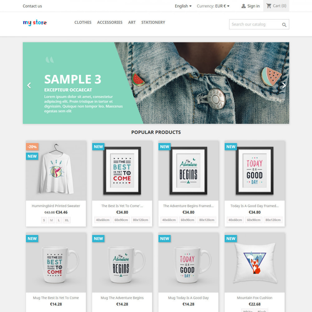 module - Combinations & Product Customization - Product attributes / combinations in category - 3
