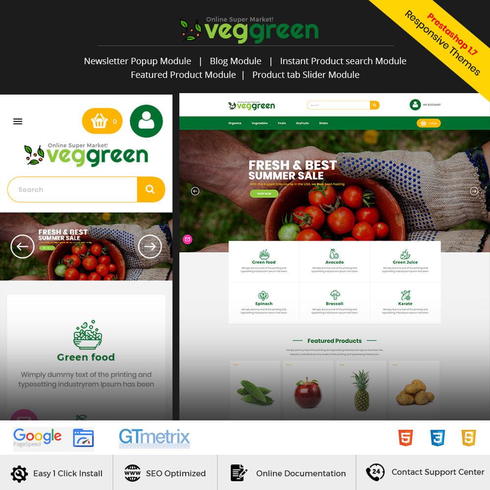 theme - Alimentation & Restauration - Veg Green - Magasin alimentaire Vegitable Fresh - 2