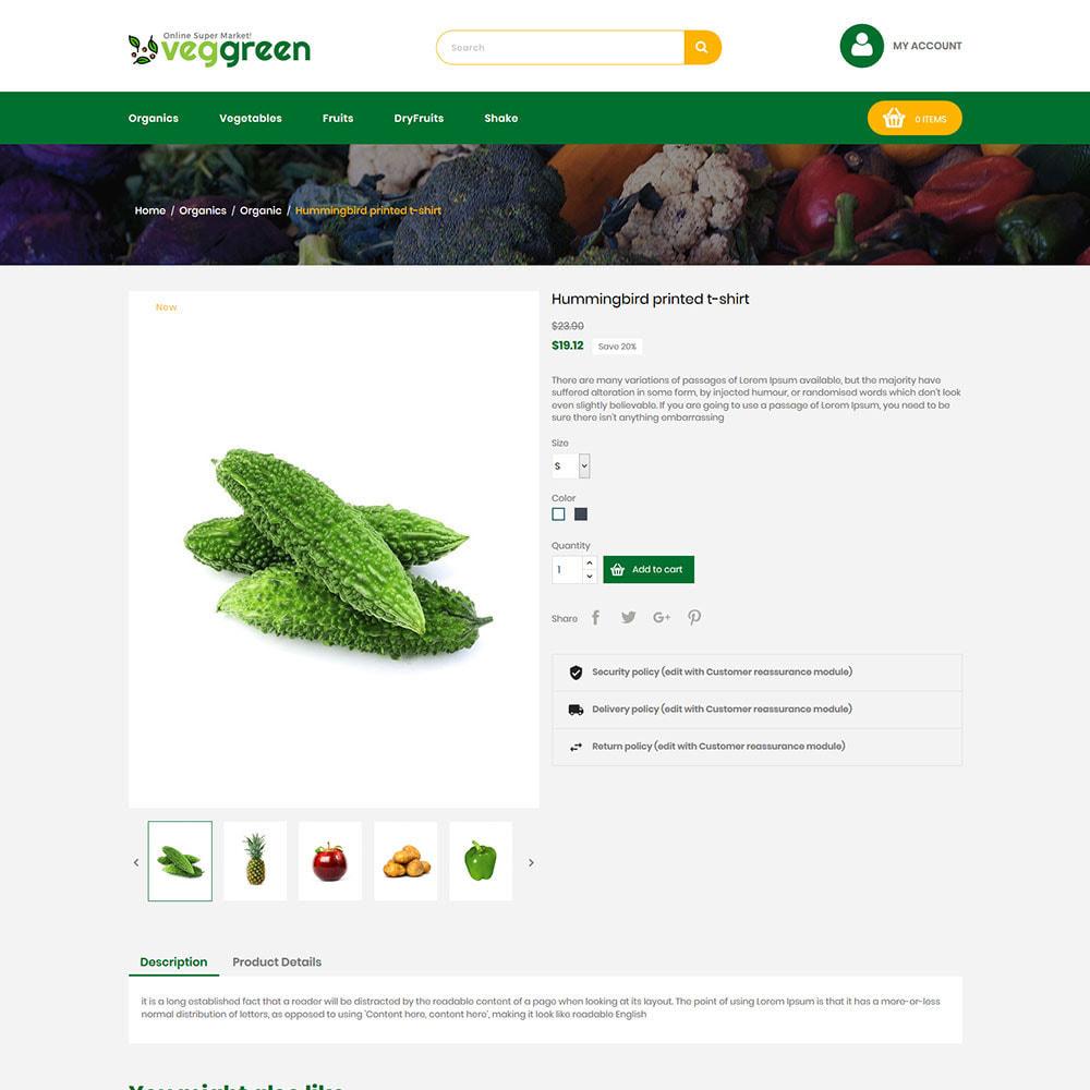 theme - Żywność & Restauracje - Veg Green - Food Vegitable Fresh Store - 6