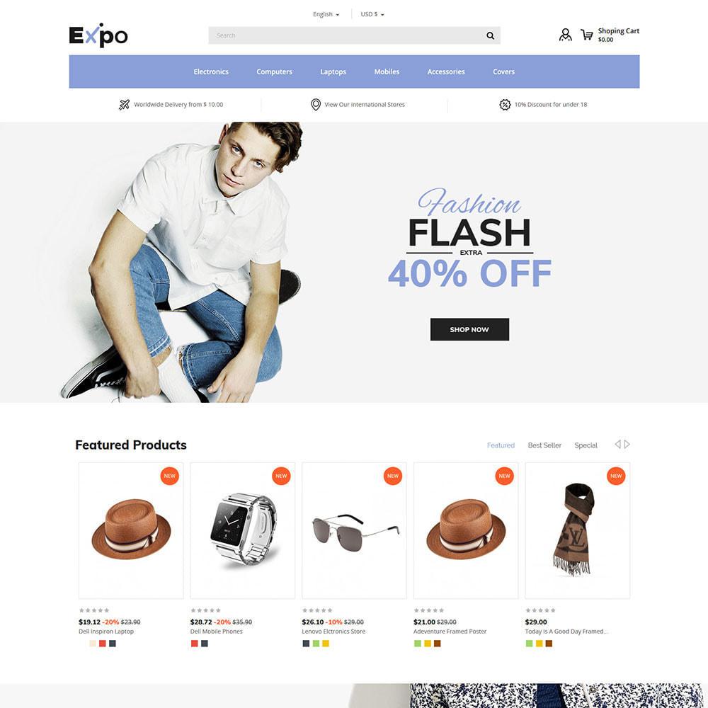 theme - Мода и обувь - Fashion Clothes - Магазин женской одежды - 3