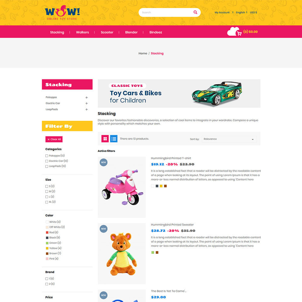 theme - Kinderen & Speelgoed - Wow Kids - Speelgoed Babyspellen Station Store - 5