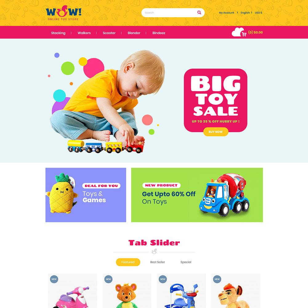 theme - Zabawki & Artykuły dziecięce - Wow Kids - Toys Baby Games Station Store - 3