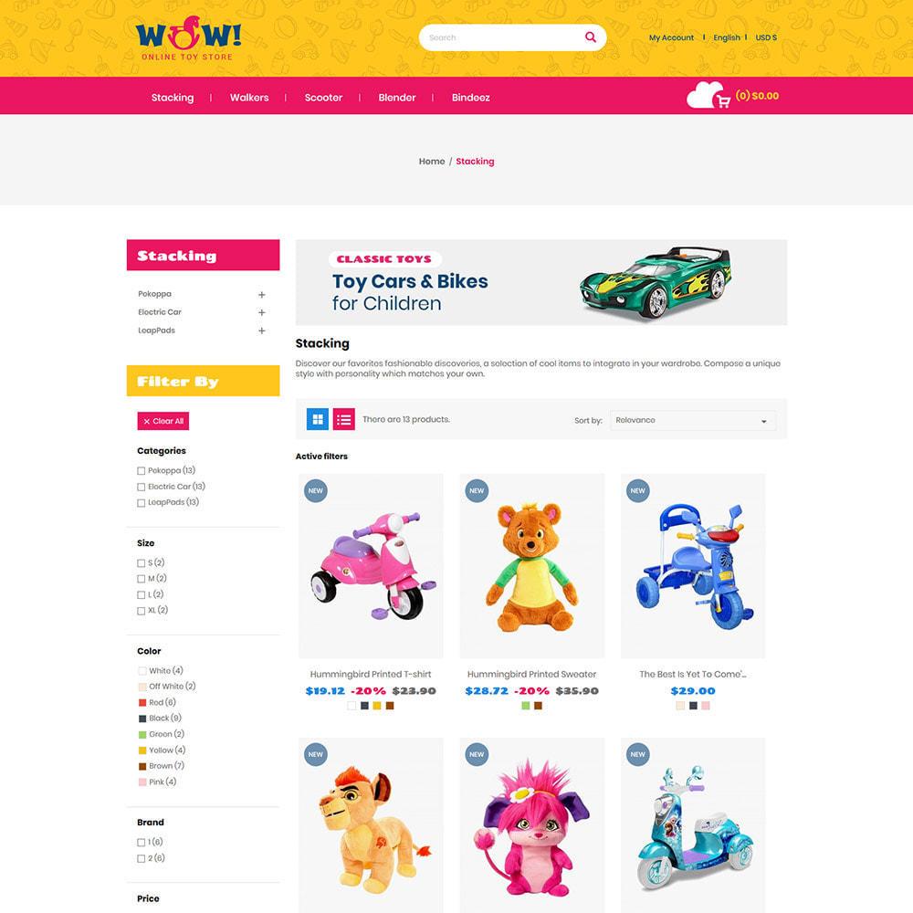 theme - Zabawki & Artykuły dziecięce - Wow Kids - Toys Baby Games Station Store - 4