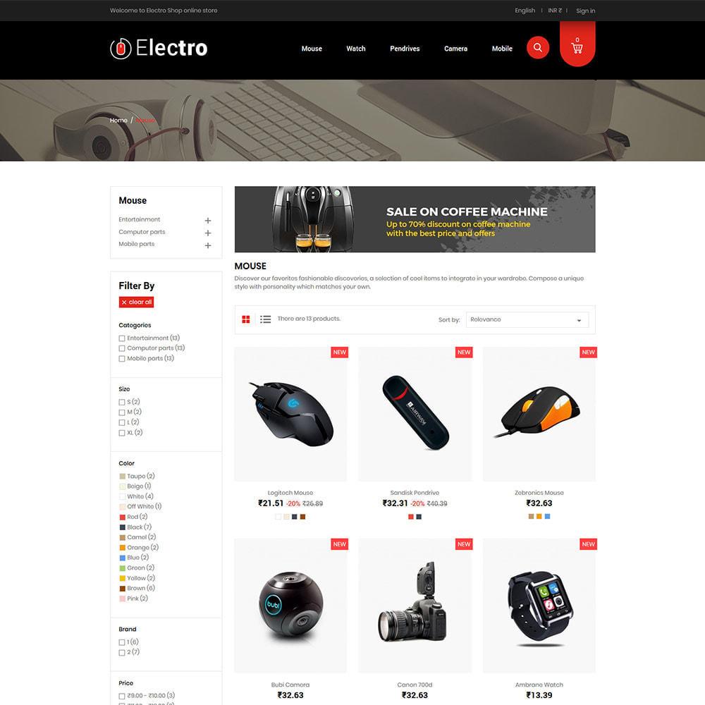 theme - Eletrônicos & High Tech - Electronics Mobile Digital - Loja de computadores - 4