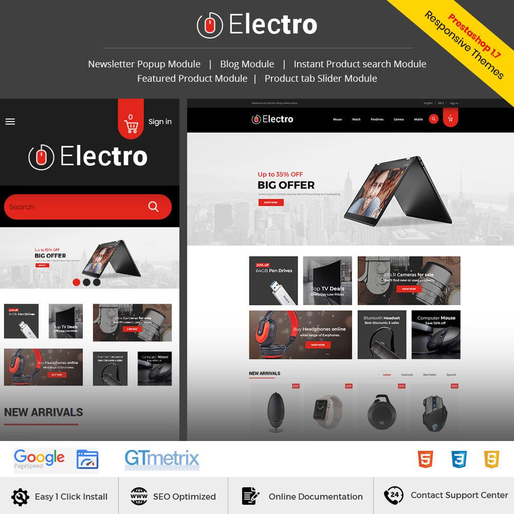 theme - Электроника и компьютеры - Electronics Mobile Digital - Магазин компьютерных - 2