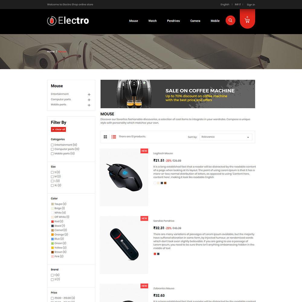 theme - Электроника и компьютеры - Electronics Mobile Digital - Магазин компьютерных - 5