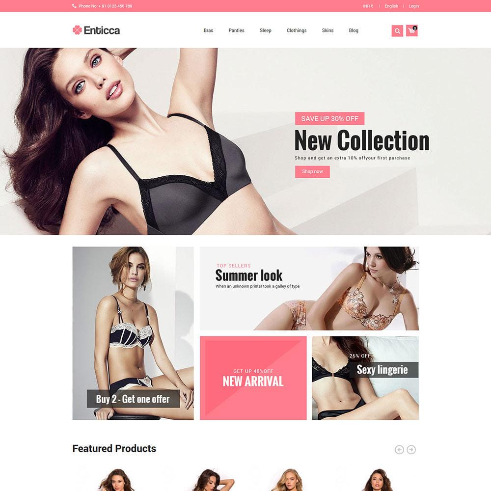 theme - Lingerie & Adulte - Lingerie Adulte - Magasin Bikini Sex Attraction - 3