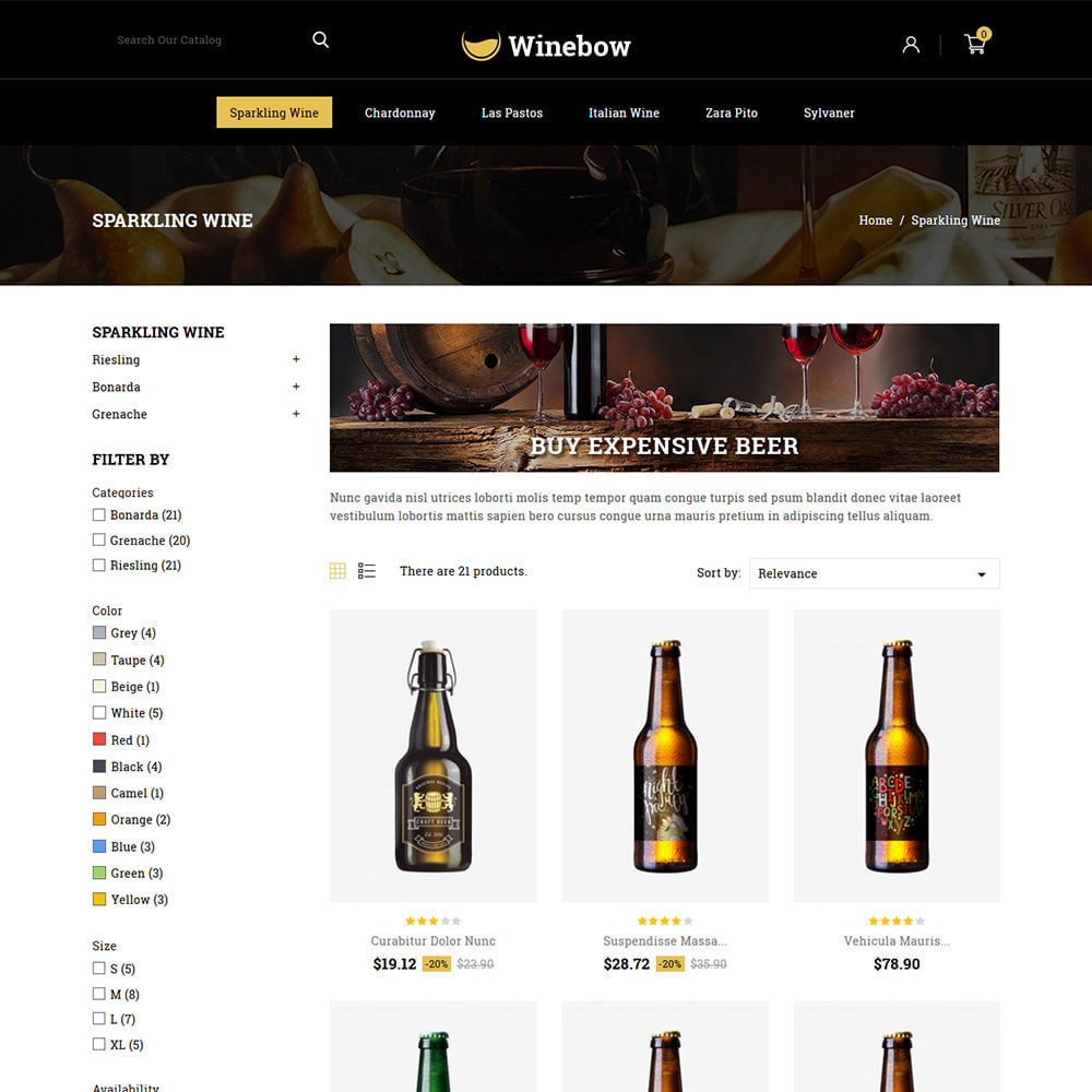 theme - Drank & Tabak - Winebow - Liquor Shop - 3