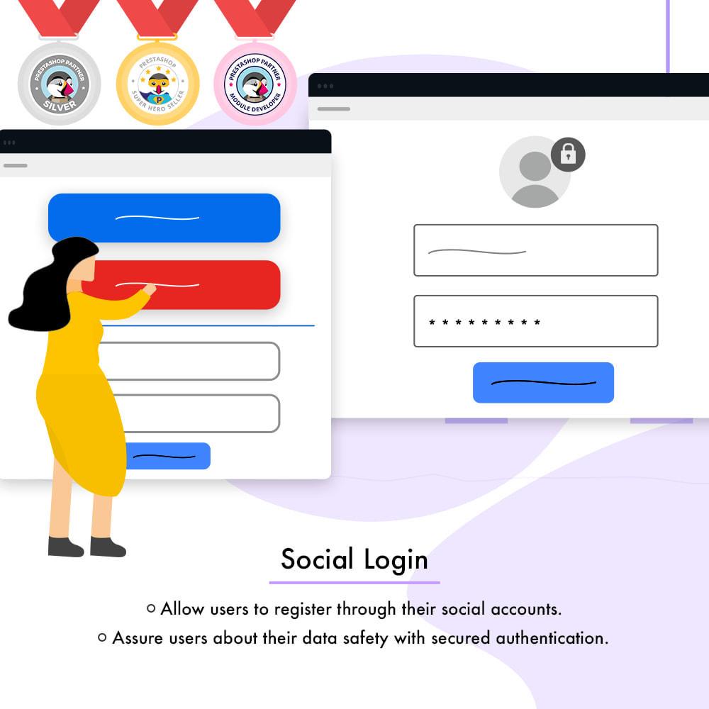 module - Логин / Подключение - Social Login - 2
