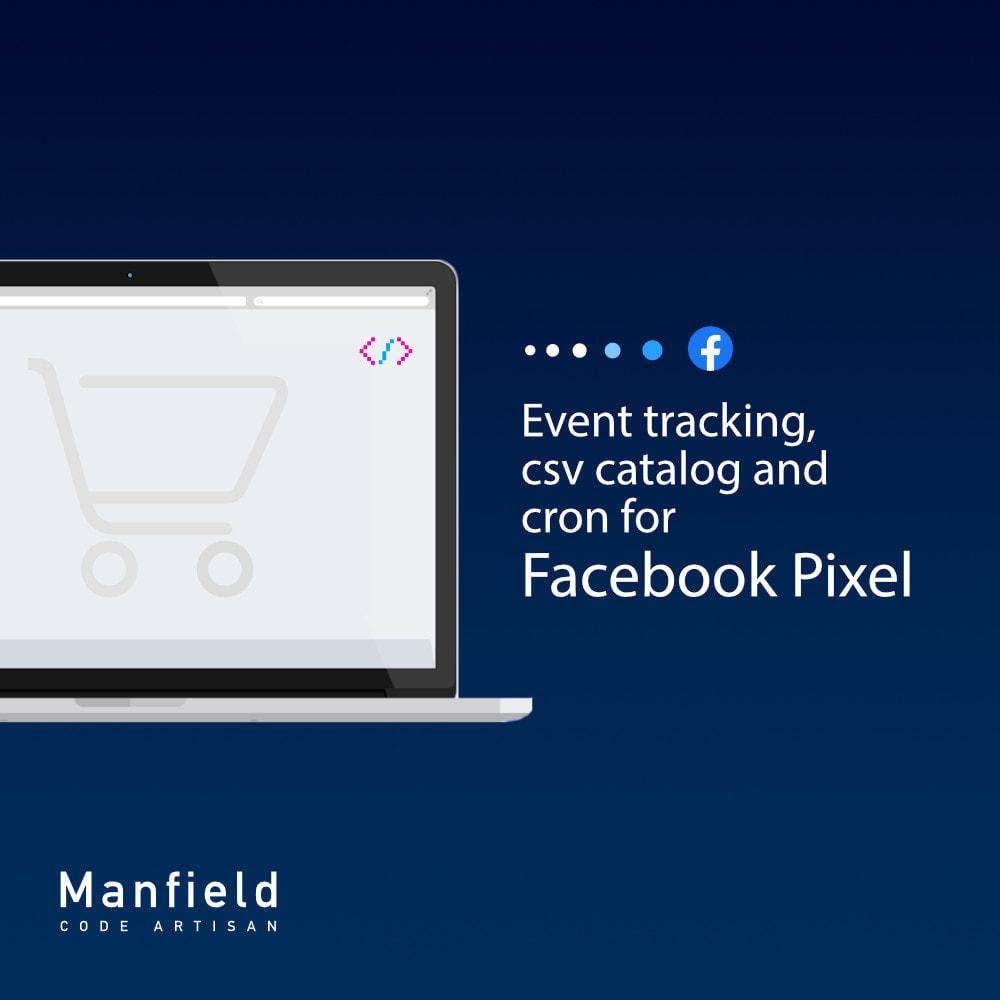 module - Produits sur Facebook & réseaux sociaux - Facebook Pixel + Track E-commerce + Catalogo e Cron - 1