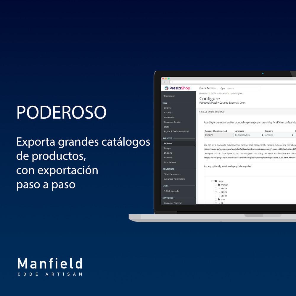 module - Productos en Facebook & redes sociales - Facebook Pixel + Track E-commerce + Catalogo e Cron - 6