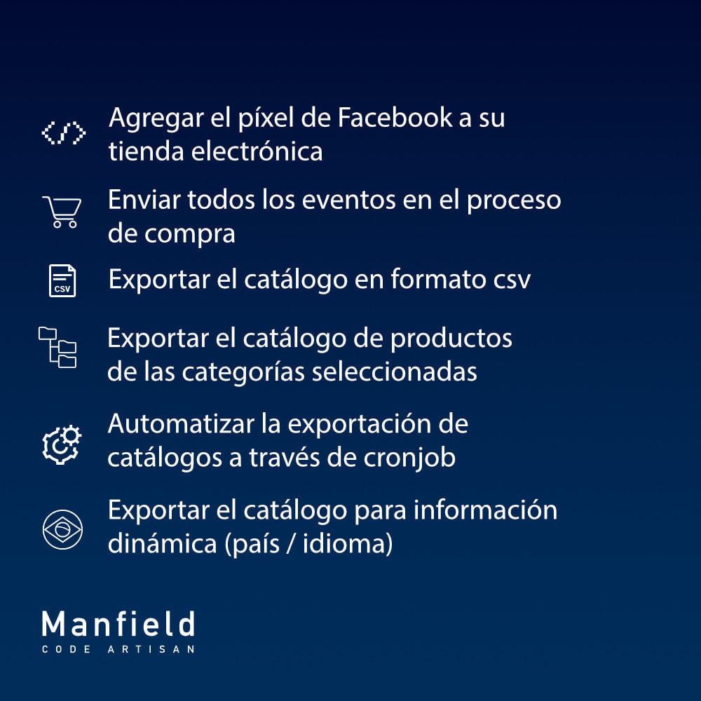 module - Productos en Facebook & redes sociales - Facebook Pixel + Track E-commerce + Catalogo e Cron - 7