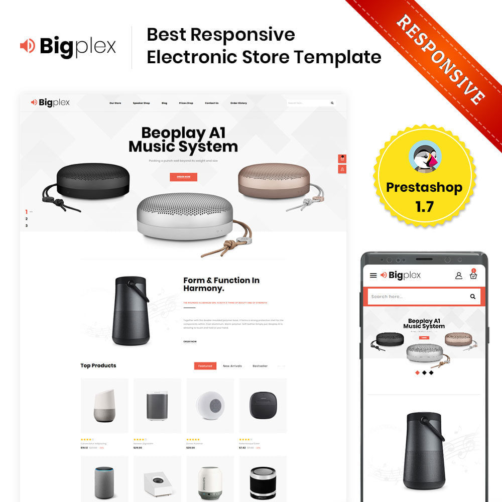 theme - Elektronica & High Tech - Bigplex Electronics Store - 1