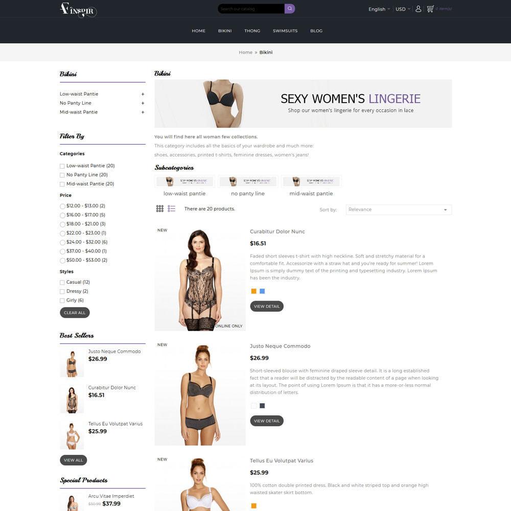 theme - Нижнее белье и товары для взрослых - Inspir Lingerie Store - 5