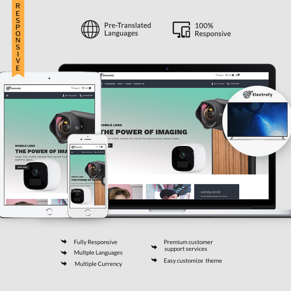 theme - Electronics & Computers - Electrofy - Electronics, Mobile Accessories - 1
